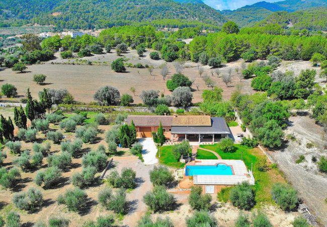 Ses Oliveres villa Selva 016