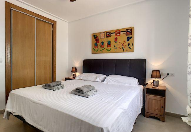 Appartement de vacances Blick auf den Pool, gratis WiFi, Erdgeschoss, Sat-TV (2464750), Roldan, , Murcie, Espagne, image 3