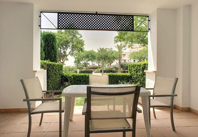 Appartement de vacances Blick auf den Pool, gratis WiFi, Erdgeschoss, Sat-TV (2464750), Roldan, , Murcie, Espagne, image 5