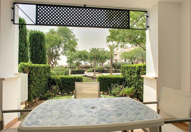 Appartement de vacances Blick auf den Pool, gratis WiFi, Erdgeschoss, Sat-TV (2464750), Roldan, , Murcie, Espagne, image 7