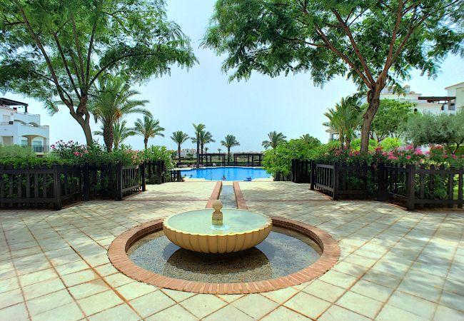 Appartement de vacances Blick auf den Pool, gratis WiFi, Erdgeschoss, Sat-TV (2464750), Roldan, , Murcie, Espagne, image 10