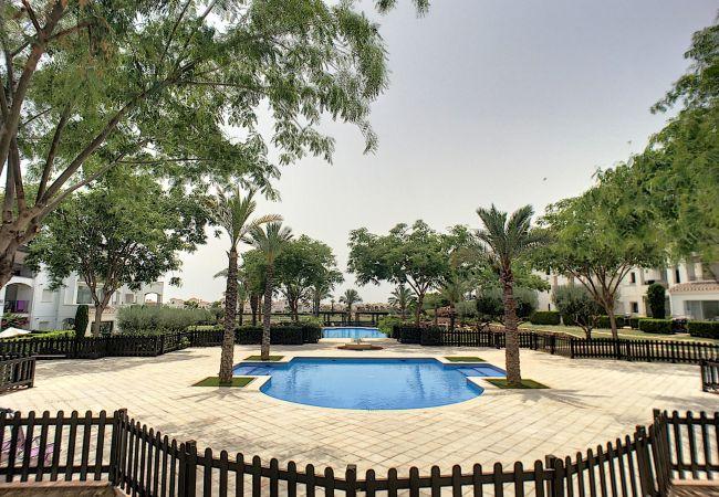 Appartement de vacances Blick auf den Pool, gratis WiFi, Erdgeschoss, Sat-TV (2464750), Roldan, , Murcie, Espagne, image 11