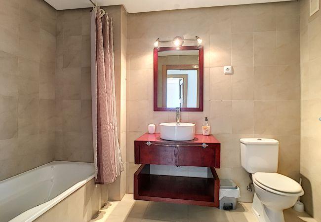 Appartement de vacances Blick auf den Pool, gratis WiFi, Erdgeschoss, Sat-TV (2464750), Roldan, , Murcie, Espagne, image 19