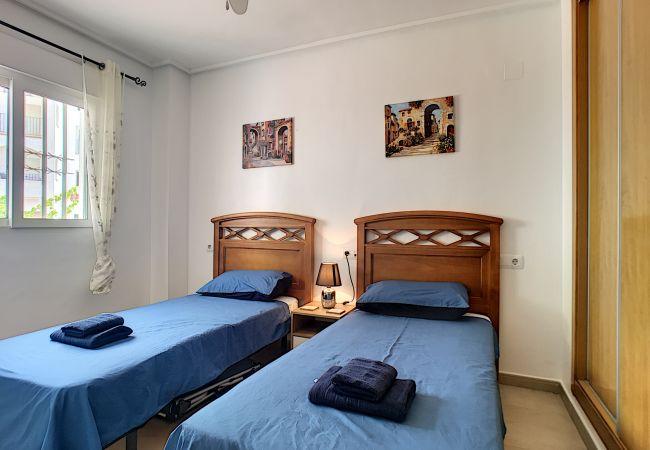 Appartement de vacances Blick auf den Pool, gratis WiFi, Erdgeschoss, Sat-TV (2464750), Roldan, , Murcie, Espagne, image 6