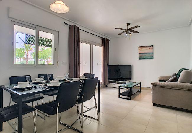 Appartement de vacances Blick auf den Pool, gratis WiFi, Erdgeschoss, Sat-TV (2464750), Roldan, , Murcie, Espagne, image 2