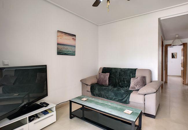 Appartement de vacances Blick auf den Pool, gratis WiFi, Erdgeschoss, Sat-TV (2464750), Roldan, , Murcie, Espagne, image 12