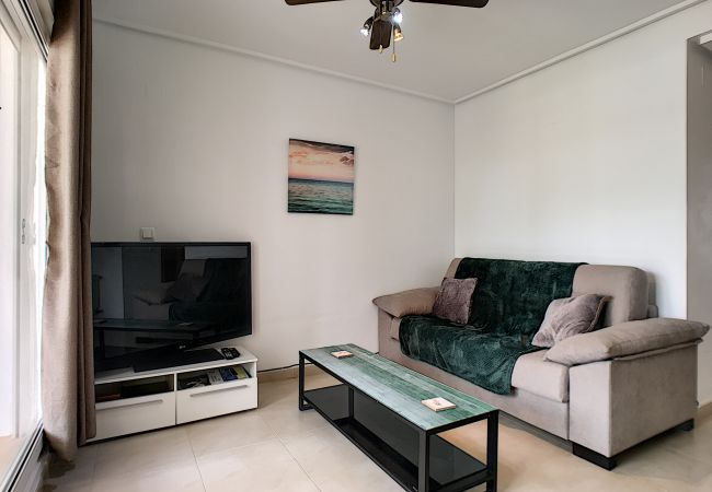 Appartement de vacances Blick auf den Pool, gratis WiFi, Erdgeschoss, Sat-TV (2464750), Roldan, , Murcie, Espagne, image 14