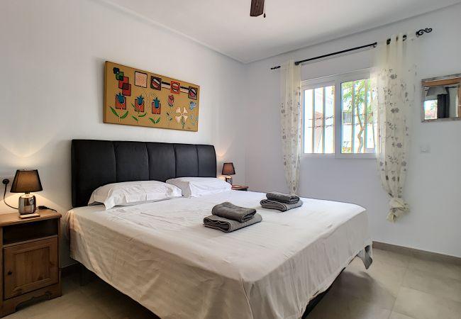 Appartement de vacances Blick auf den Pool, gratis WiFi, Erdgeschoss, Sat-TV (2464750), Roldan, , Murcie, Espagne, image 4