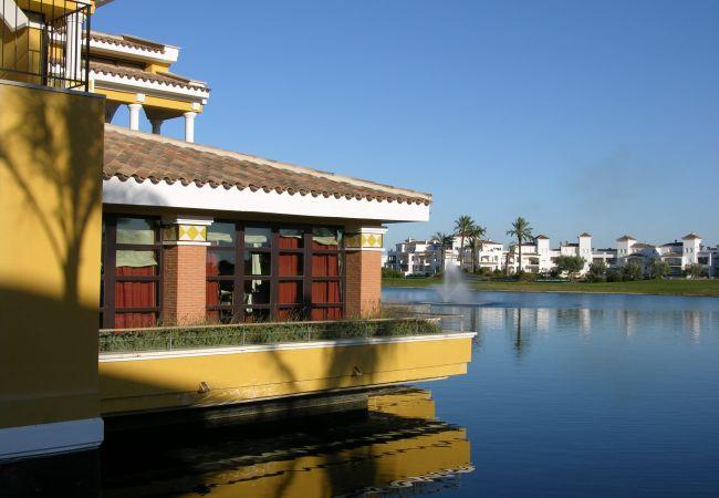 Appartement de vacances Blick auf den Pool, gratis WiFi, Erdgeschoss, Sat-TV (2464750), Roldan, , Murcie, Espagne, image 20