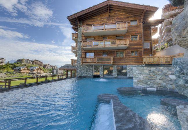 Appartement de vacances Duplex Grimpeur 13 - ski lift - Spa access (2618857), Haute-Nendaz, 4 Vallées, Valais, Suisse, image 46