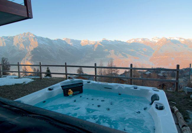 Maison de vacances Chalet Riquet - ski-in/out - luxe (2618858), Haute-Nendaz, 4 Vallées, Valais, Suisse, image 29