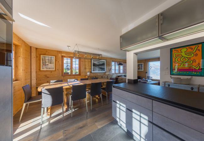 Maison de vacances Chalet Riquet - ski-in/out - luxe (2618858), Haute-Nendaz, 4 Vallées, Valais, Suisse, image 5