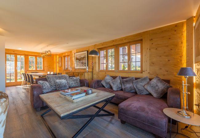 Maison de vacances Chalet Riquet - ski-in/out - luxe (2618858), Haute-Nendaz, 4 Vallées, Valais, Suisse, image 9