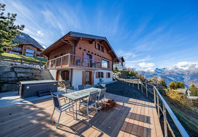 Maison de vacances Chalet Riquet - ski-in/out - luxe (2618858), Haute-Nendaz, 4 Vallées, Valais, Suisse, image 28