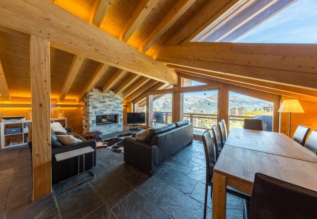 Appartement de vacances Montagnard 12 - Spa Access (2618862), Haute-Nendaz, 4 Vallées, Valais, Suisse, image 2