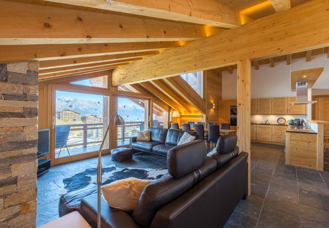 Appartement de vacances Montagnard 12 - Spa Access (2618862), Haute-Nendaz, 4 Vallées, Valais, Suisse, image 3