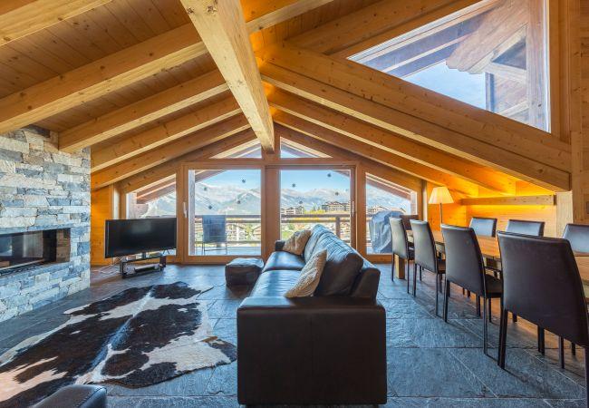 Appartement de vacances Montagnard 12 - Spa Access (2618862), Haute-Nendaz, 4 Vallées, Valais, Suisse, image 5