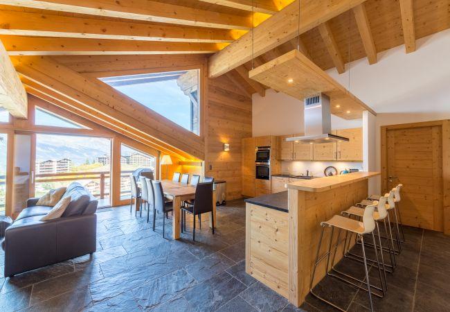 Appartement de vacances Montagnard 12 - Spa Access (2618862), Haute-Nendaz, 4 Vallées, Valais, Suisse, image 25