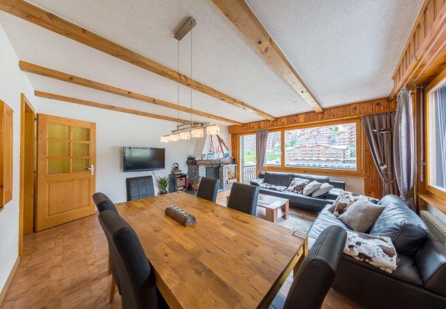 Appartement de vacances Ecluses 15 - close ski lift - pool - centre (2618863), Haute-Nendaz, 4 Vallées, Valais, Suisse, image 5