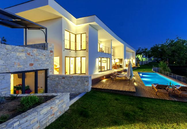 Modern Villa Vala, in Istria, with a Pool