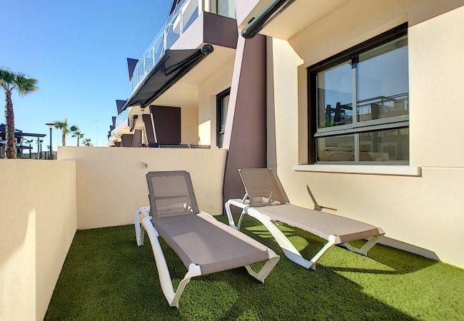 Ferienwohnung modernes Erdgeschoss, WLAN, Terrasse, 2 Pools (2570533), Pilar de la Horadada, Costa Blanca, Valencia, Spanien, Bild 15