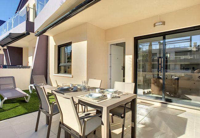Ferienwohnung modernes Erdgeschoss, WLAN, Terrasse, 2 Pools (2570533), Pilar de la Horadada, Costa Blanca, Valencia, Spanien, Bild 16