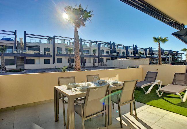 Ferienwohnung modernes Erdgeschoss, WLAN, Terrasse, 2 Pools (2570533), Pilar de la Horadada, Costa Blanca, Valencia, Spanien, Bild 17