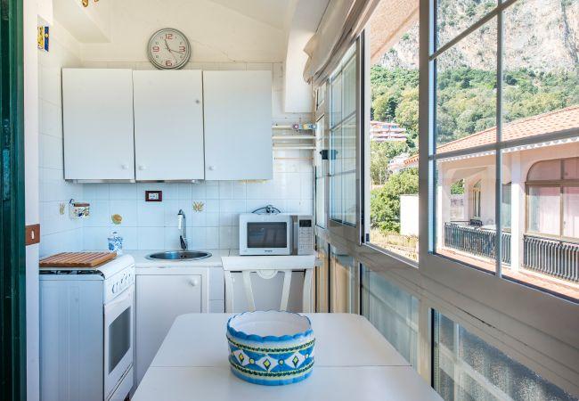 Appartement de vacances Casa con terrazza sul mare all'Addaura (2618846), Palermo, Palermo, Sicile, Italie, image 12