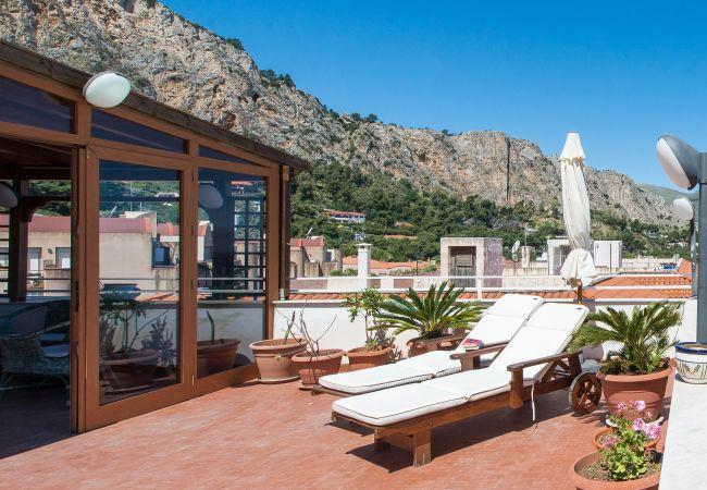 Appartement de vacances Casa con terrazza sul mare all'Addaura (2618846), Palermo, Palermo, Sicile, Italie, image 13