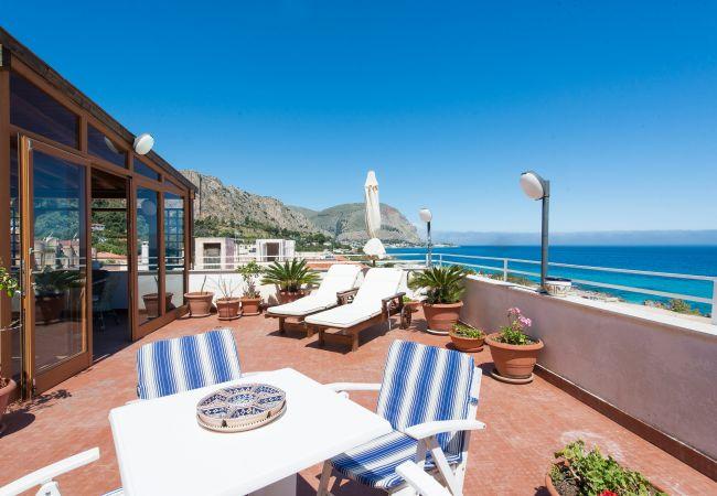 Appartement de vacances Casa con terrazza sul mare all'Addaura (2618846), Palermo, Palermo, Sicile, Italie, image 14