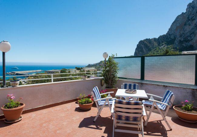 Appartement de vacances Casa con terrazza sul mare all'Addaura (2618846), Palermo, Palermo, Sicile, Italie, image 2