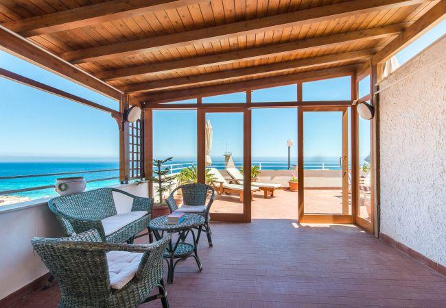 Appartement de vacances Casa con terrazza sul mare all'Addaura (2618846), Palermo, Palermo, Sicile, Italie, image 3