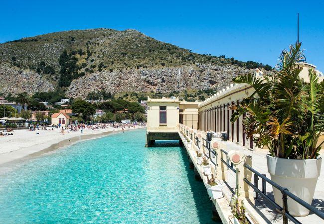 Appartement de vacances Casa con terrazza sul mare all'Addaura (2618846), Palermo, Palermo, Sicile, Italie, image 30