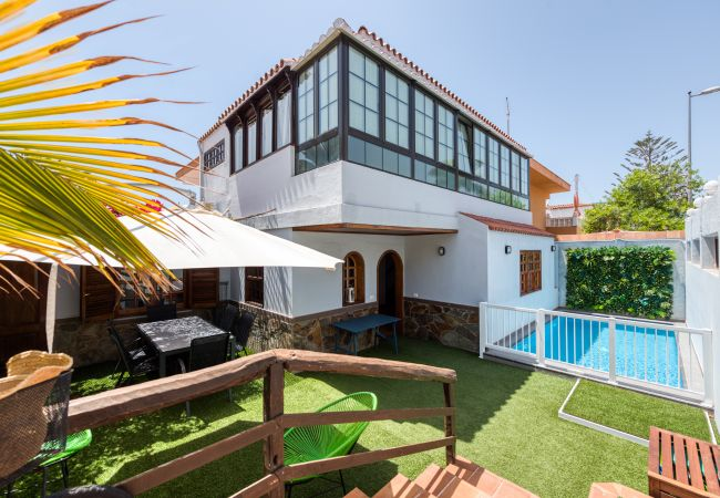 Holiday house Great house private pool S.Agustín-Canariasgetaway (2670445), Maspalomas, Gran Canaria, Canary Islands, Spain, picture 1