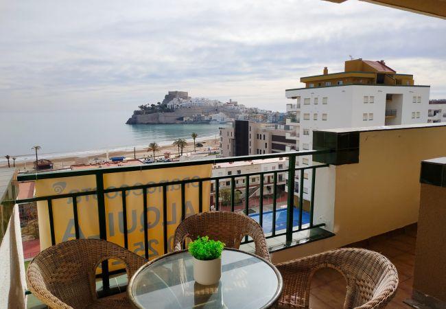 Wohnung Peñiscola Playa 4/6 Personen   Costa del Azahar