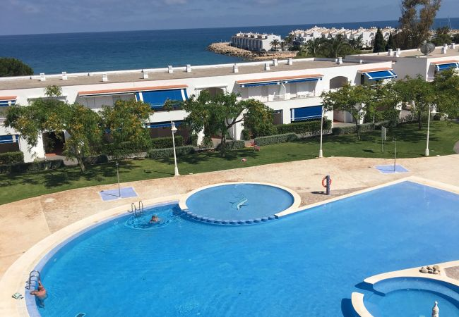 Jardines del puerto 4/4 Seeblick Casa Azahar   Costa del Azahar